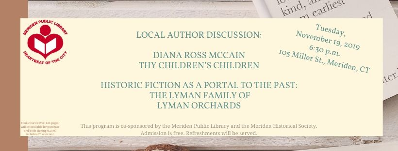 banner local author event