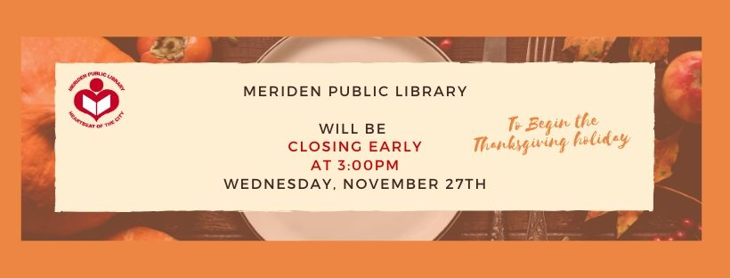 banner thanksgiving early closing