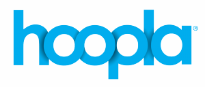 hoopla logo blue