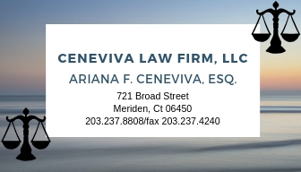 ceneviva law firm card