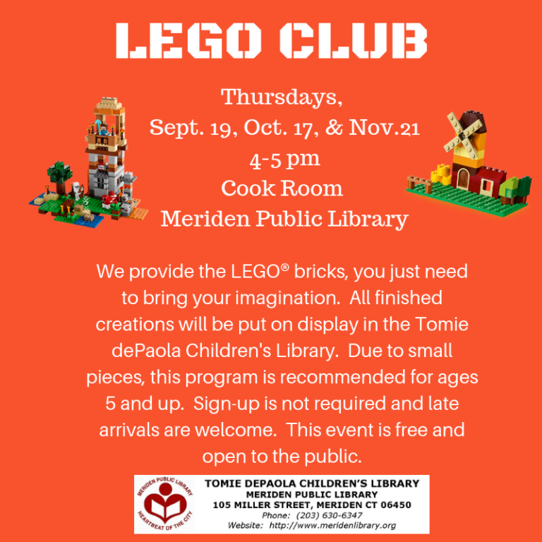 lego club fall 2019