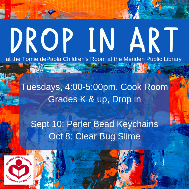 drop in art fall 2019