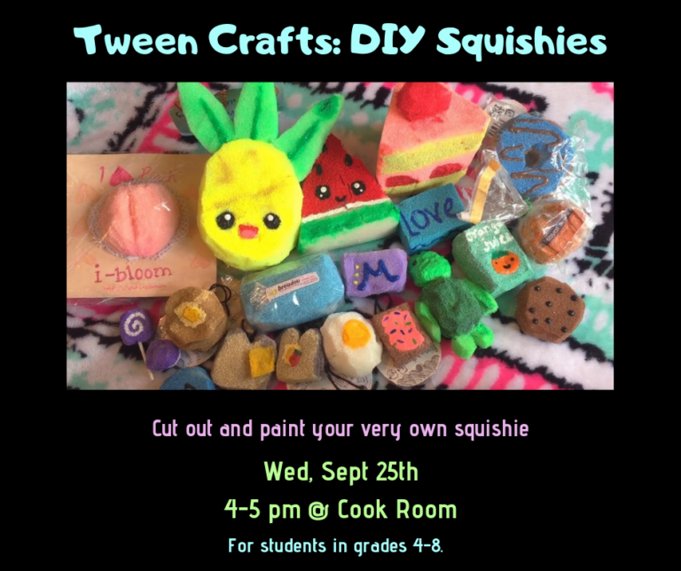 tween crafts squishies