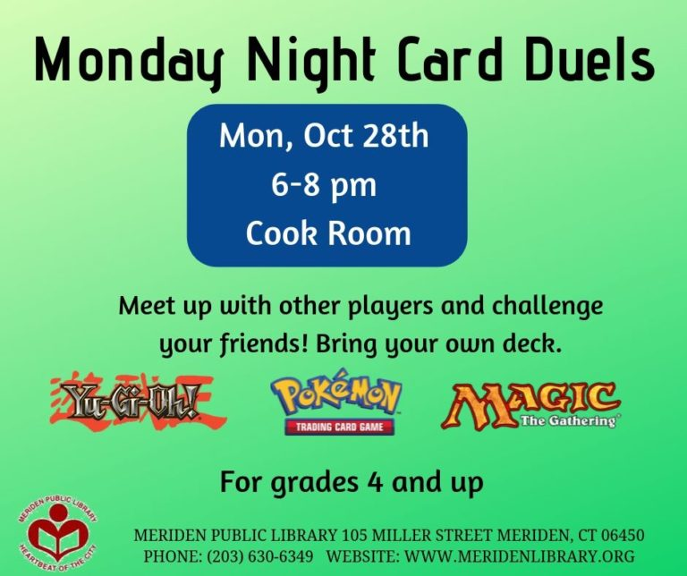 monday night card duels october