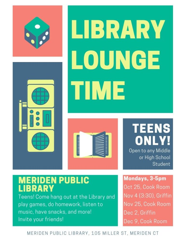 library lounge time october