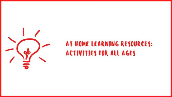 copy of at home learning resources activities for all ages