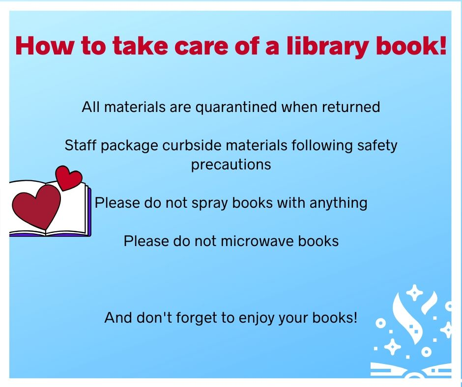 how to care of a library book 2