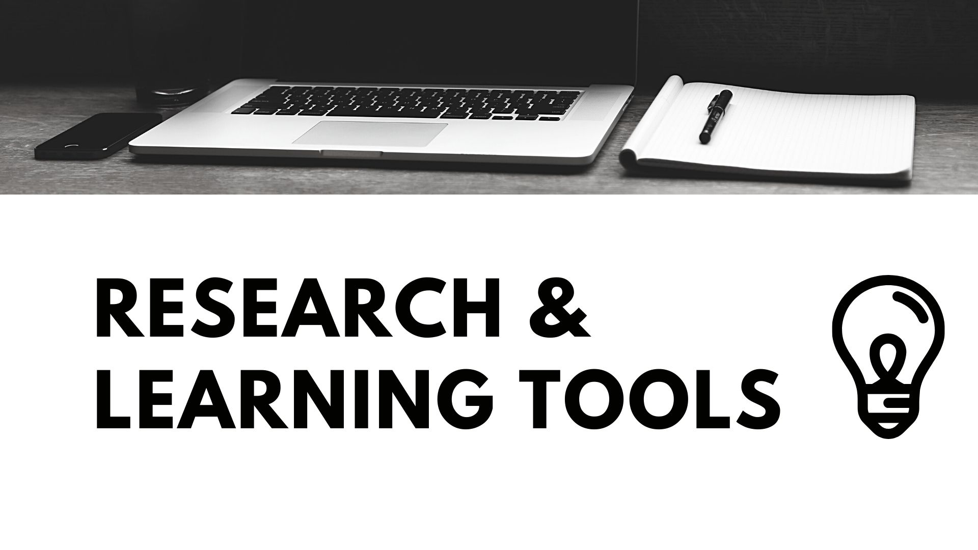 research & learning tools