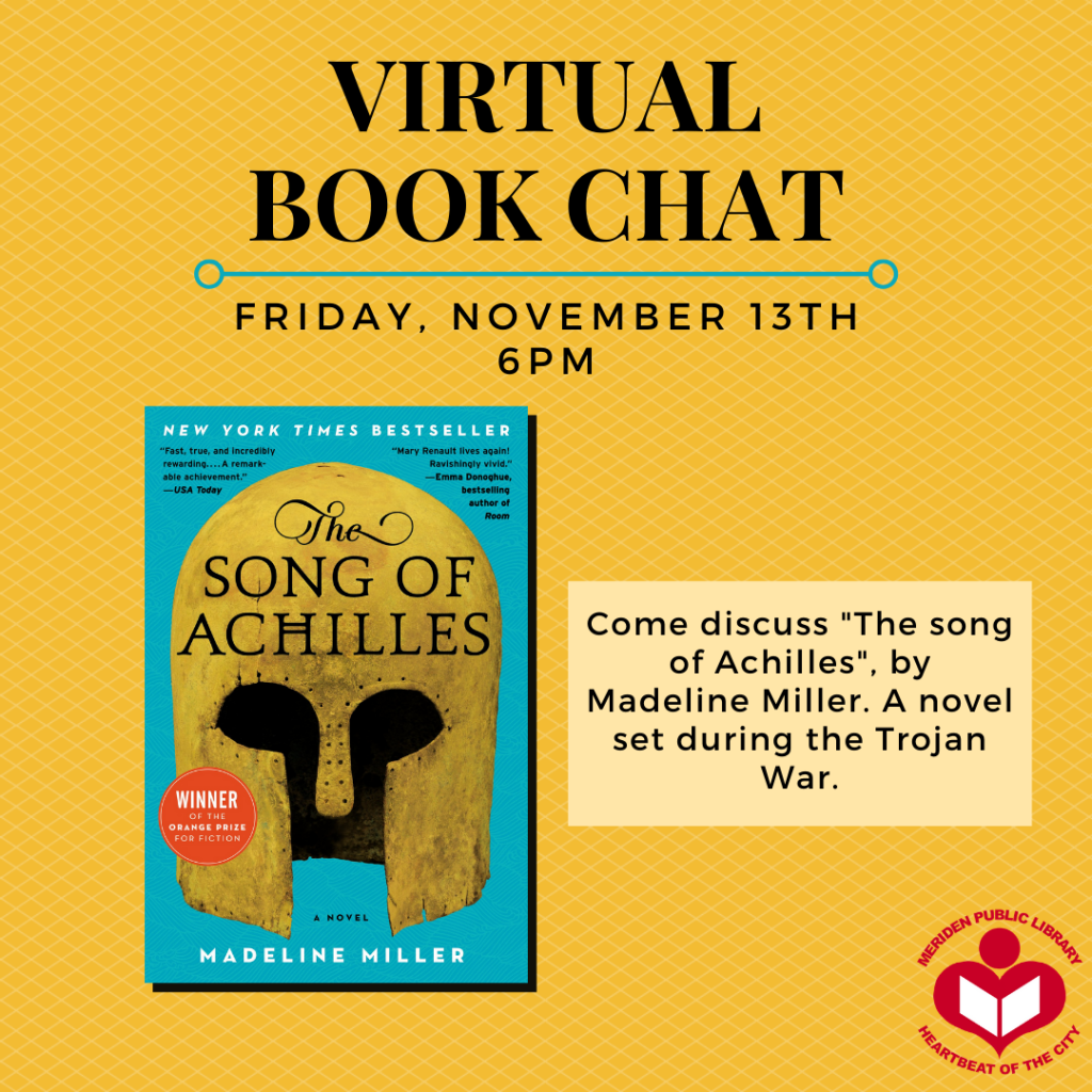 song of achilles book chat