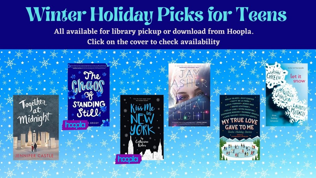 teen holiday picks