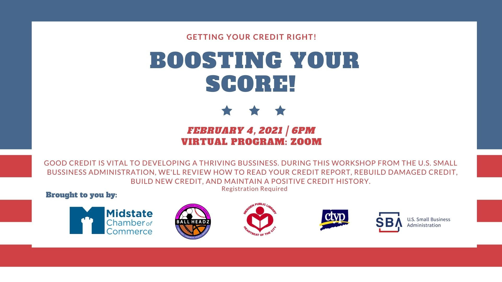 boosting your score! (credit program)