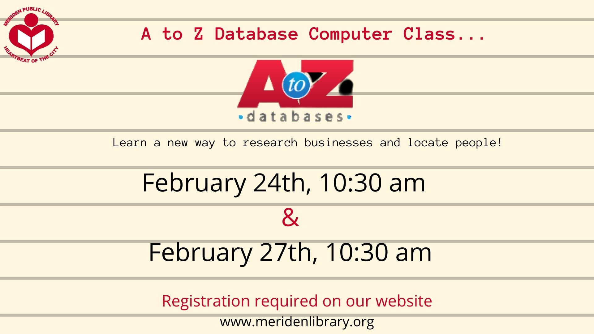 copy of a to z computer class