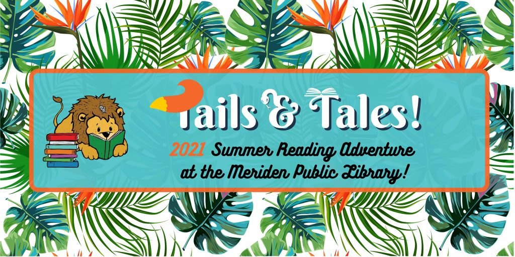 2021 summer reading tails tales banner 1